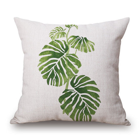 Palm Leaves Cushion Cover - www.hitide808.com