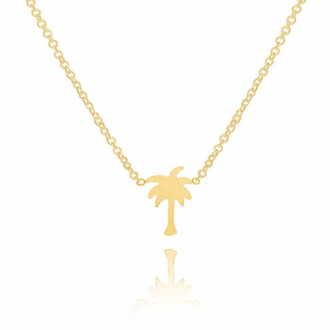 Palm Tree Necklace - www.hitide808.com