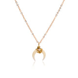 Ox Horn Necklace - www.hitide808.com