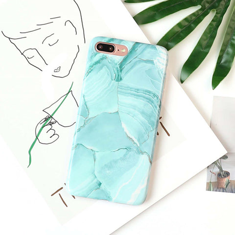 Marble Sea Phone Case - www.hitide808.com
