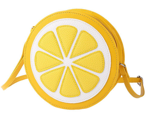 Lemon Crossbody Bag - www.hitide808.com