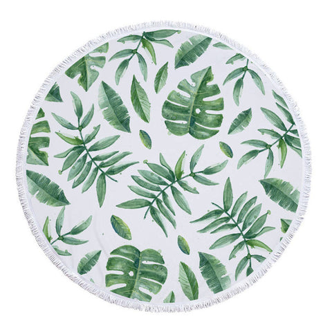 Summer Breeze Round Towel - www.hitide808.com