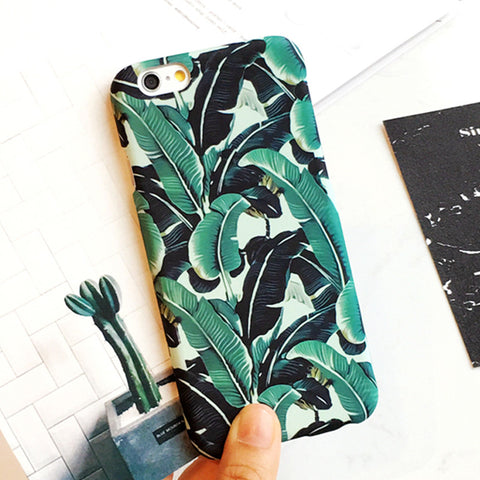 Banana Leaf Phone Case - www.hitide808.com