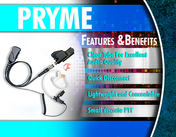Pryme Radio Accessories