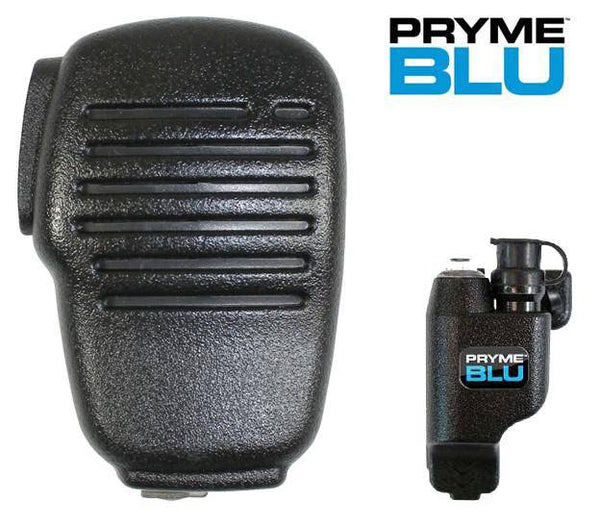 PrymeBlu BTH-SPM100 Wireless Bluetooth Speaker Microphone Kit fits Motorola Includes Adapter - Earphone Guy LLC