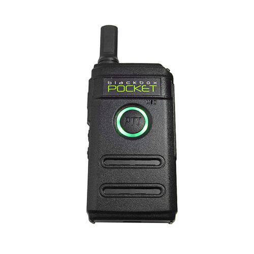 Blackbox Pocket UHF Two-Way Radio - Earphone Guy LLC
