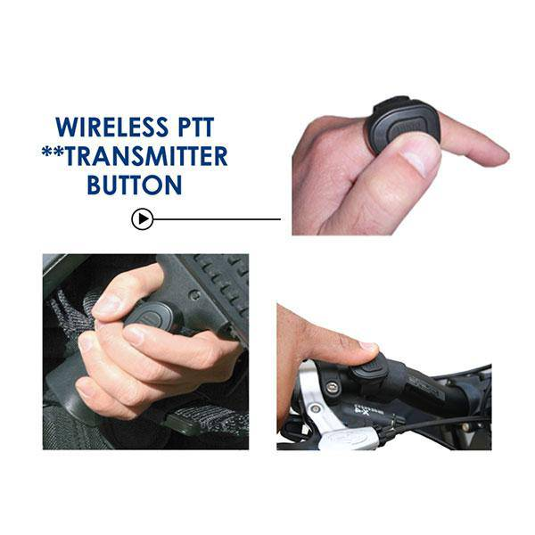 Combi Wireless QR Adapter & PTT Kit fits Motorola APX/TRBO - Earphone Guy LLC