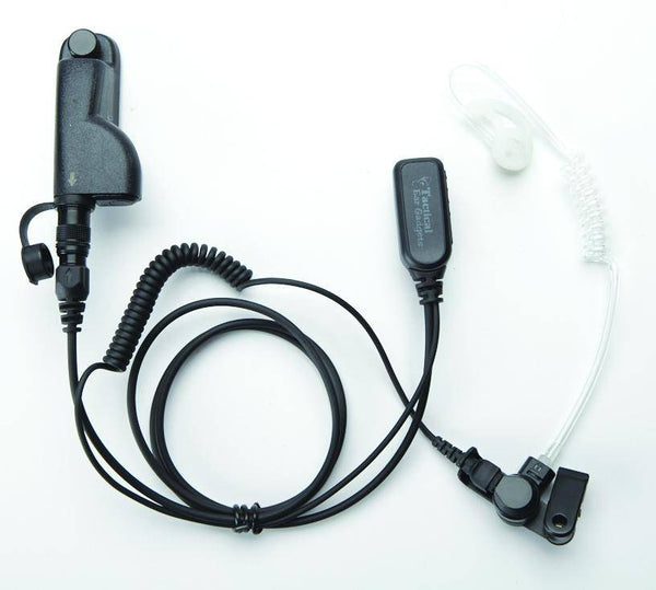 EP1334EC Hawk Lapel Microphone w/Easy-Connect fits Motorola APX/TRBO - Earphone Guy LLC