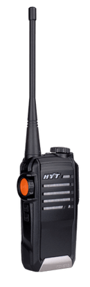 HYT TC-518-U1 Portable Radio UHF 400-470 MHz, 16 Channels - Earphone Guy LLC