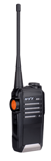 HYT TC-518-U1 Portable Radio UHF 400-470 MHz, 16 Channels - The Earphone Guy