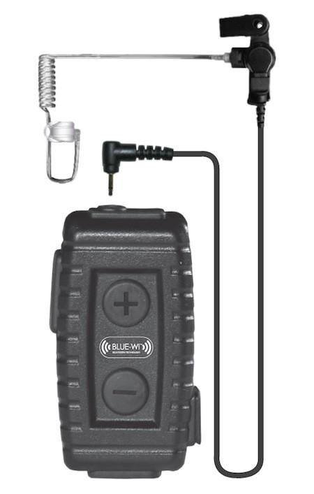 BlueWi BW-NT5000U Nighthawk Bluetooth Lapel Microphone for Harris MA/com XG-100U - Earphone Guy LLC