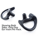 Semi Custom Flexible Open Ear Insert - Black - Earphone Guy LLC
