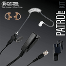 PM23RR Patrol Mic Lapel Microphone Fits Motorola - The Earphone Guy