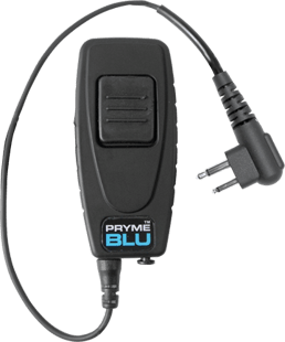 Pryme BT-503 Bluetooth Adapter for Motorola Two-Pin Radios - Earphone Guy LLC
