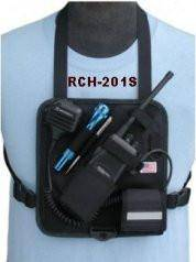 RCH-201S Radio Chest Harness (Solid Backing) - The Earphone Guy
