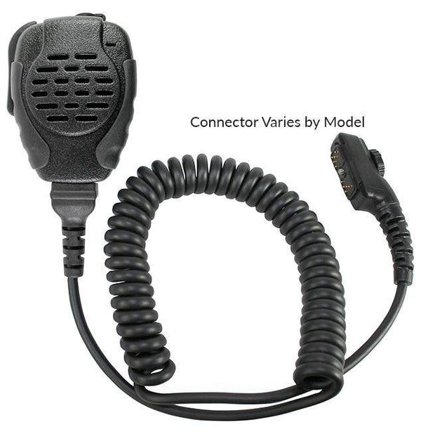 SPM-2101, Trooper, Heavy Duty Speaker Mic Fits Kenwood - The Earphone Guy