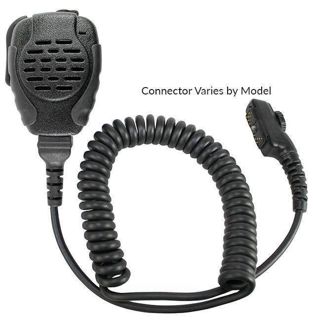 SPM-2183 Trooper Heavy Duty Speaker Mic Fits Motorola - The Earphone Guy