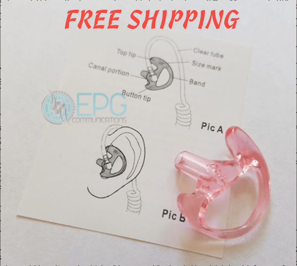 Semi-Custom Flexible Open Ear Insert (Semi Custom Ear Mold) - Earphone Guy LLC
