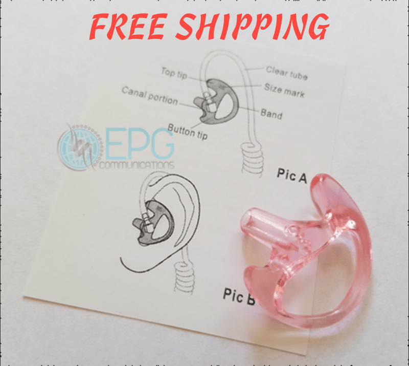 Semi-Custom Flexible Open Ear Insert (Semi Custom Ear Mold) - The Earphone Guy