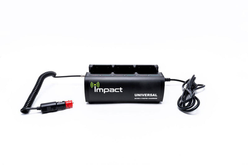 AC/DC-3 V3 Impact Universal Rapid Three Bank Charger - Earphone Guy LLC