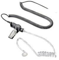 EPG-1369, Earphone Kit, w/ Acoustic Tube, 2.5mm, Black - The Earphone Guy