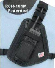 RCH-101M Radio Chest Harness - Mesh - Earphone Guy LLC