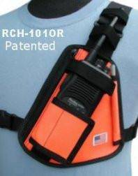 RCH-101OR Radio Chest Harness - Earphone Guy LLC