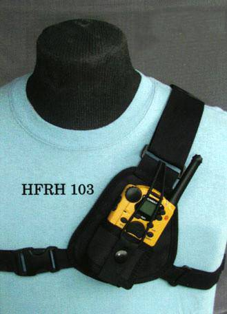 RCH-103 FRS Radio Chest Harness - The Earphone Guy