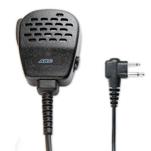 ARC S11005 Heavy Duty Speaker Microphone fit Motorola Dual Pin - The Earphone Guy