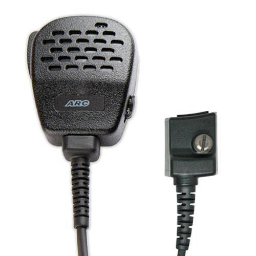 ARC S11006 Heavy Duty Speaker Mic Fits M/A Com - Harris - The Earphone Guy