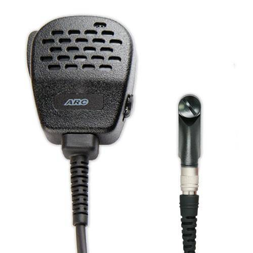 ARC S11036HR Heavy Duty Speaker Mic Fits M/A Com - Harris - The Earphone Guy