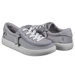 BILLY Kids Low Top Canvas Zippered footwear