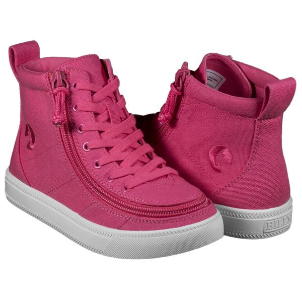 BILLY Kids High Top Canvas Zippered footwear