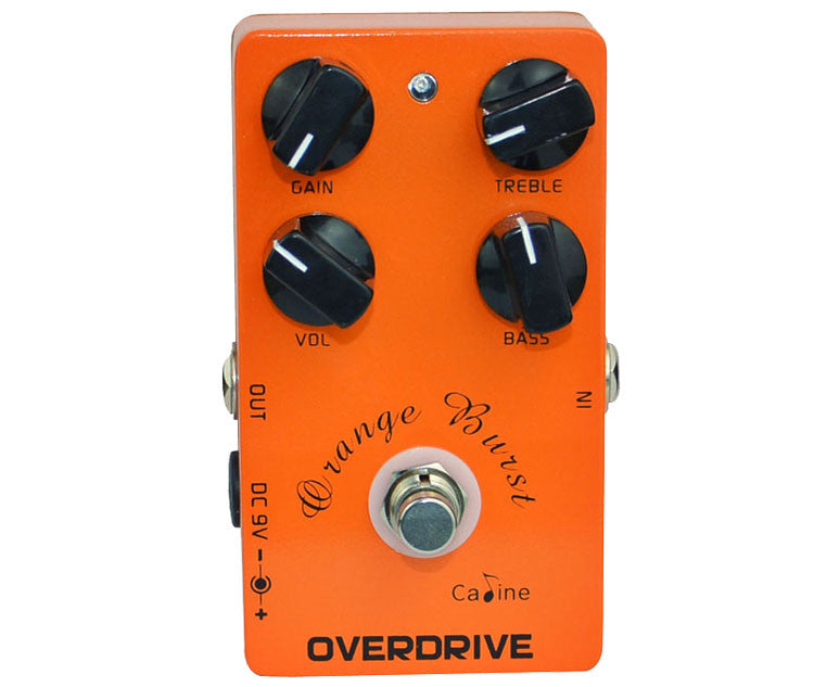Cp-18 Orange Burst ( BB Preamp Overdrive) Caline (ETIQUETA VERDE ✅)
