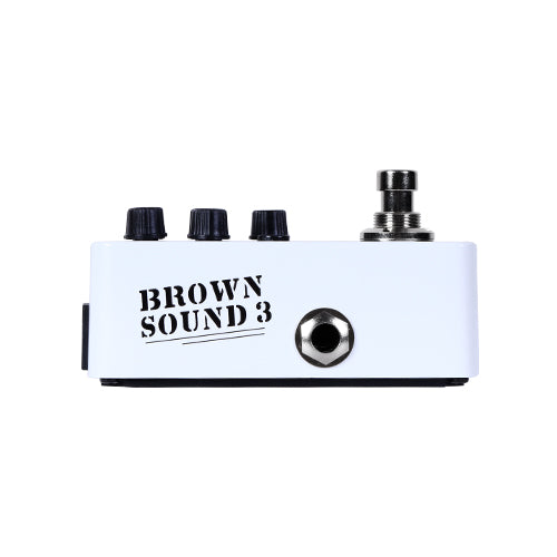 005 Brown Sound 3 (Preamp EVH 5150) - Mooer  (ETIQUETA VERDE ✅)