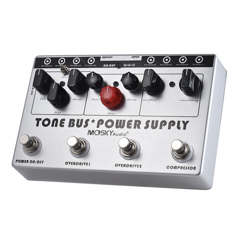 Tone Bus (Power Supply/Overdrive/Compressor) - Mosky