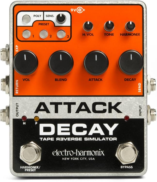 Attack Decay (Tape Reverse Simulator) - Ehx