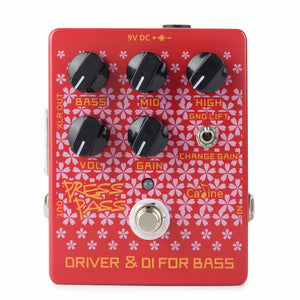 Cp-59 Drive & Di For Bass (overdrive y di box bass) - caline