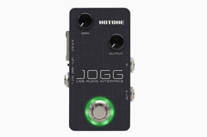 JOGG INTERFAZZ DE AUDIO - PEDAL HOTONE (ETIQUETA VERDE ✅)