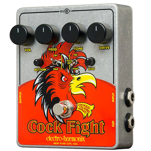 Cock Figth ( Talking Wah Pedal with Fuzz) Electro Harmonix