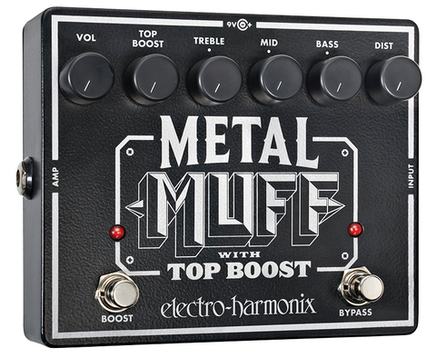Metal Muff w/ Boost (Metal Distortion) EHX