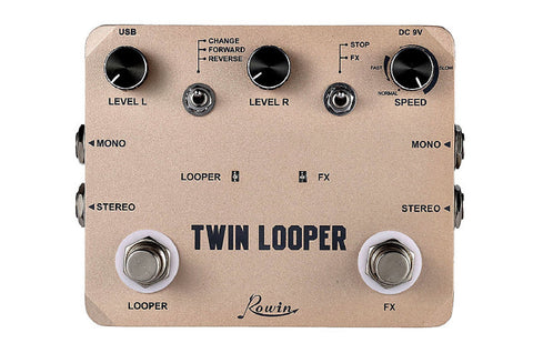 Twin Looper (10 min) Rowin twin.