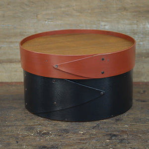 "Recessed Lid, 6"" Round Box  $54.00"