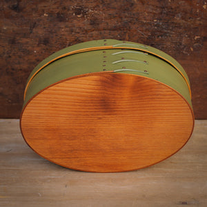 Shaker Oval Box handcrafted in Maine by LeHay's Shaker Boxes.