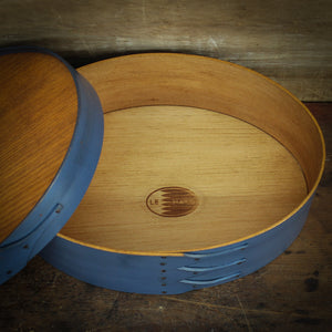 Recessed Lid, Size #5 Oval Box  $60.00