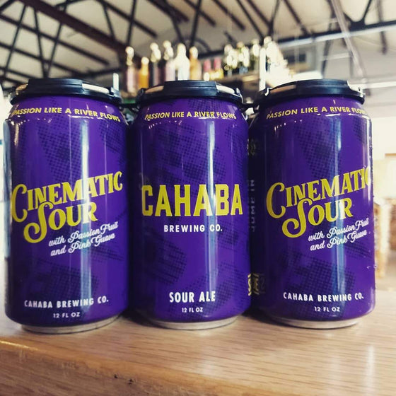 Alabama Crown Beer Cahaba Brewing Cinematic Sour Ale
