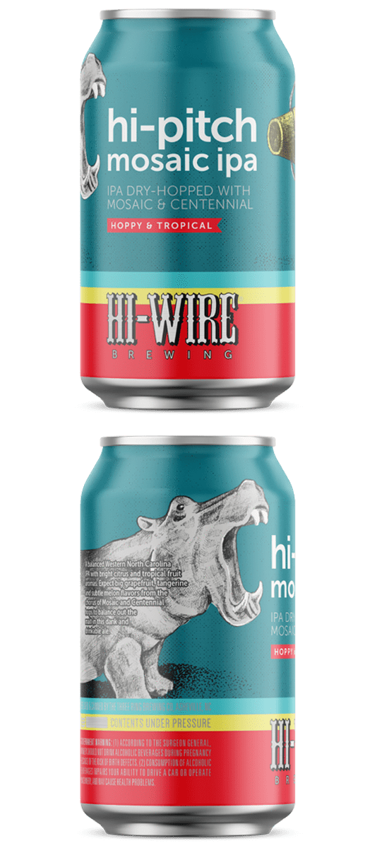Alabama Crown Craft Beer Hi-Wire Hi-Pitch IPA 6pk