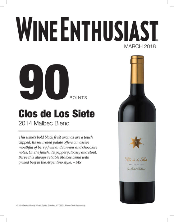 Alabama Crown Red Blend Clos de Los Siete 2014 Malbec Blend