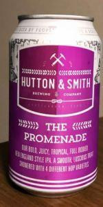 Alabev Beer Hutton& Smith The Promenade Juicy IPA