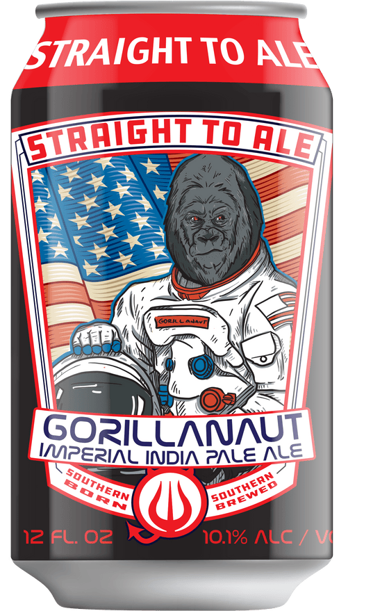 Alabev Beer Straight to Ale Gorillanaut Imperial IPA 4 pk